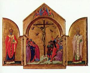 crucifixion-triptych
