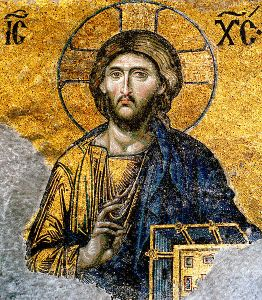 Wikimedia Commons  Desssis Mosaic, Hagia Sophia, Istanbul