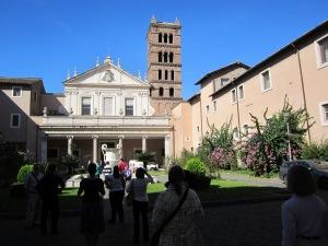 Courtyard leading into Church