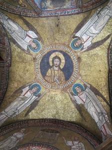 Mosaic on Ceiling of Side Altar in Santa Prassede