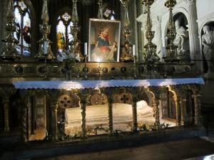 Saint Catherine of Siena's Tomb -- Santa Maria sopra Minerva