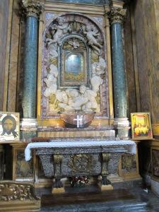 Side Altar Santa Maria