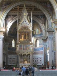 Main Altar of Basilica Saint John Lateran