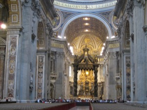 Main Altar in St. Peter's