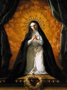 St Margaret Mary Alacoque Giaquito Corrado Wikimedia Commons