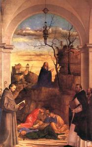 Christ Praying in the Garden Marco Basaiti Wikimedia Commons