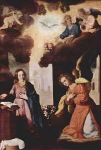 Annunciation Francisco de Zurbaran Wikimedia Commons