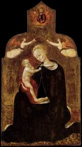 Madonna of Humility Sassetta - Wikimedia Commons