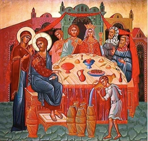 Igor Stoyanov Wedding at Cana Icon Wikimedia Commons