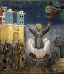 Ecstasy of St. Francis Giotto di Bondone Wikimedia Commons