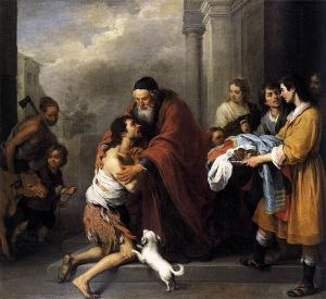Bartolome Murillo The Return of the Prodigal Son Wikimedia Commons