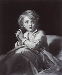 Samuel Cousins Child in Prayer Wikimedia Commons