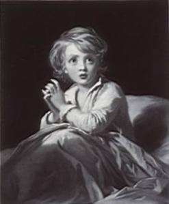 Samuel Cousins Child in Prayer Wikimedia Commons