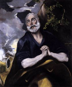 St. Peter in Penitence El Greco Wikimedia Commons
